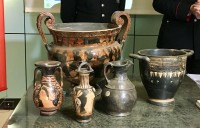 200 looted artefacts recovered in northern Italy